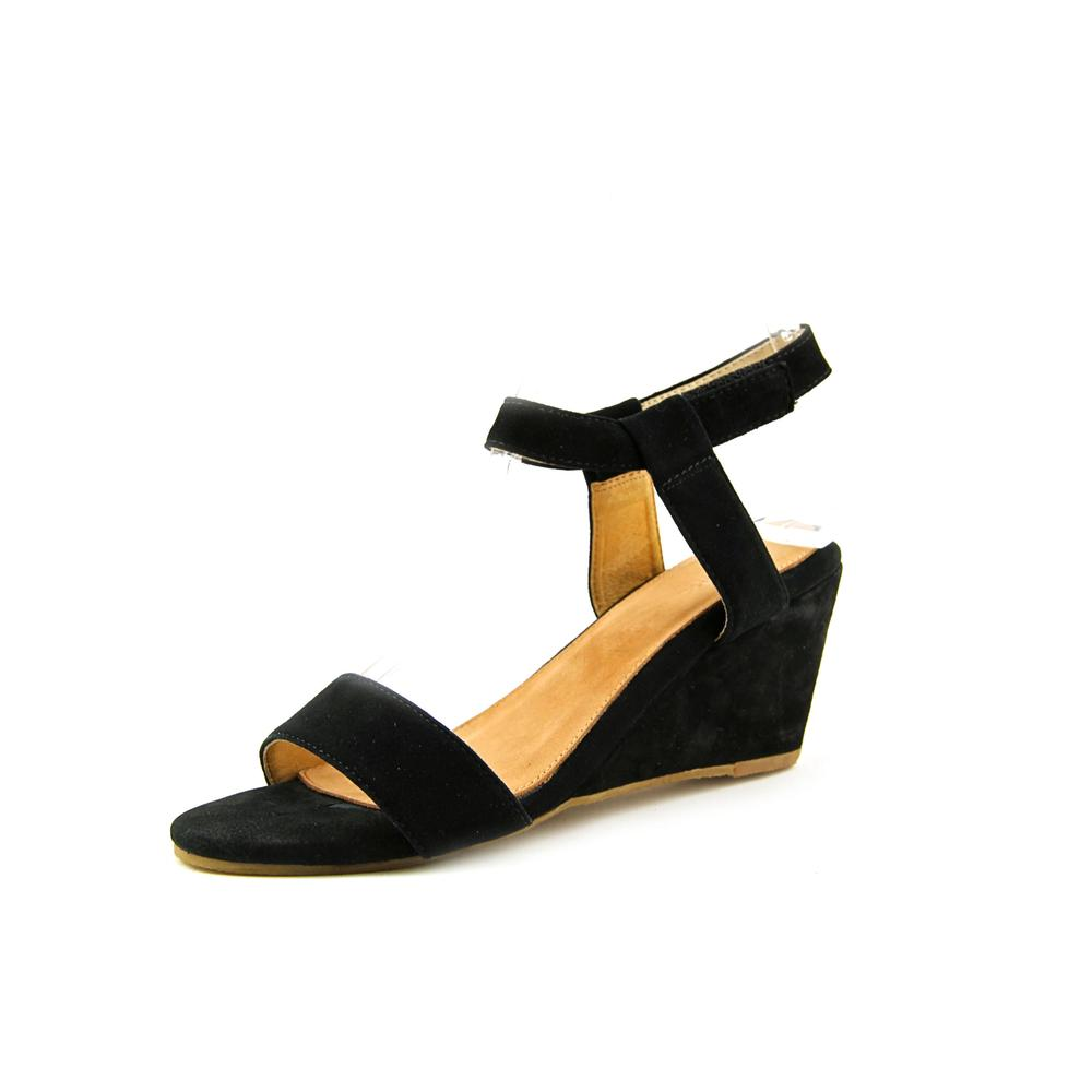 Madison Harding Suede Wedge Sandals