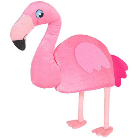 Hawaiian Luau Flamingo Adult Plush Hat (1ct)](Hawaiian Luau Games)