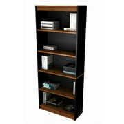 Bestar Innova 5-Shelf Bookcase, Brown