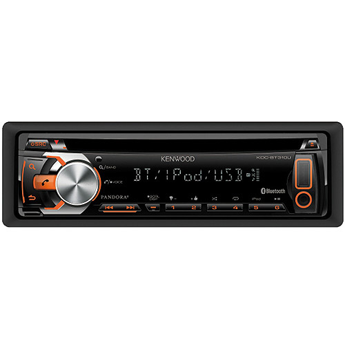Kenwood KDC-310U CD Receiver with Bluetooth/USB/AUX