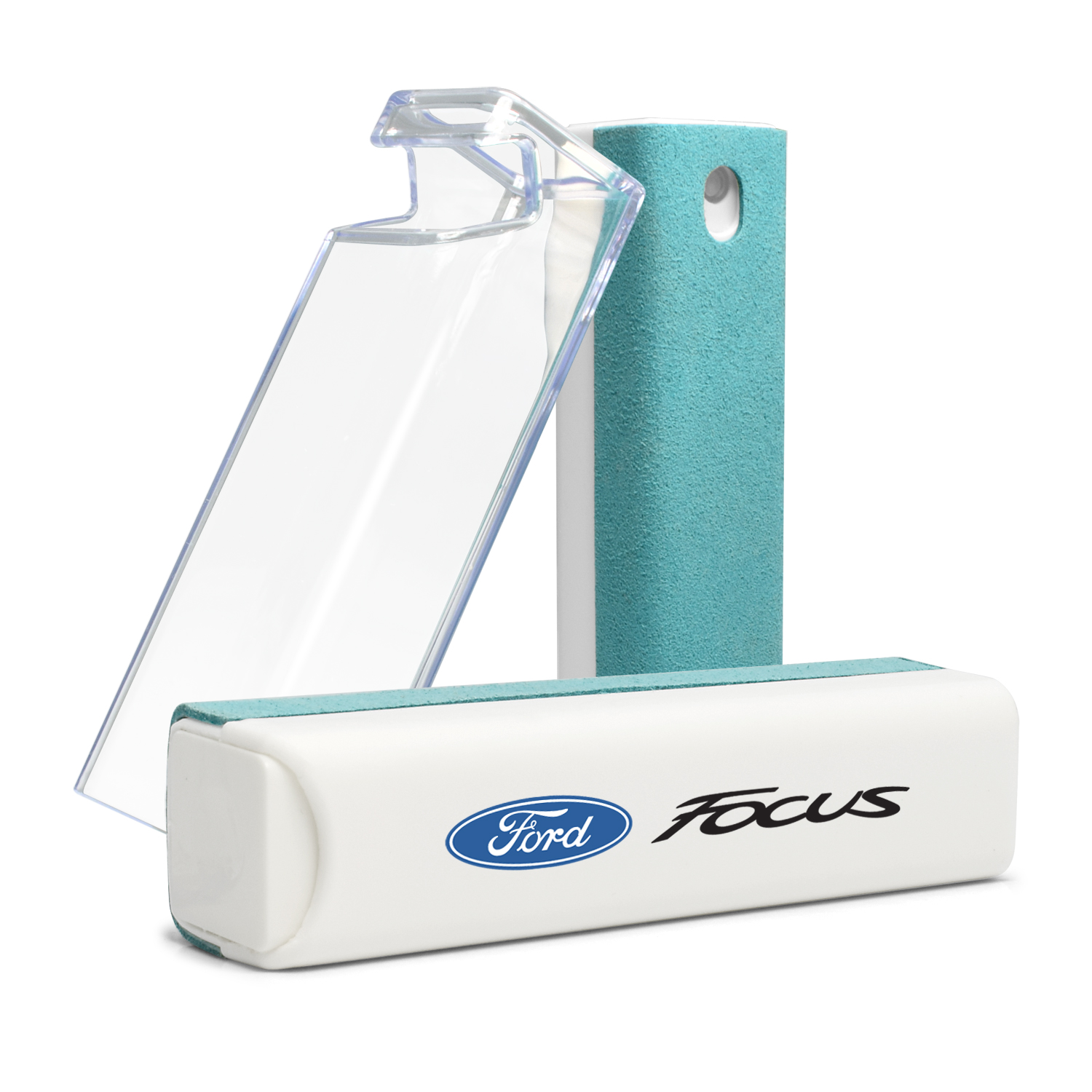 Ford Focus Blue Microfiber Screen Cleaner for Car Navigation, Cell Phone
