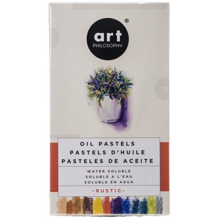 Prima Art Philosophy Water Soluble Oil Pastels 12/Pkg-Rustic