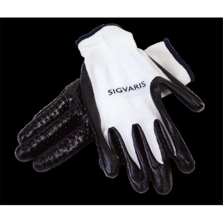 sigvaris accessories 592r400x latex-free donning gloves, extra large