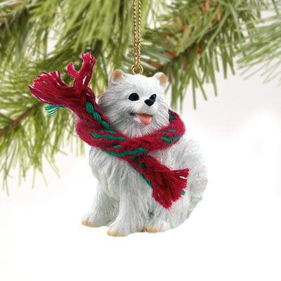 American Eskimo Miniature Original (American Eskimo Ornament)