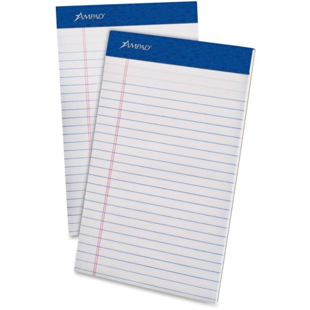 Ampad, TOP20304, Perforated Ruled Pads, 12 /