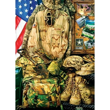 MasterPieces U.S. Army - Army Strength 1000pc Puzzle ()