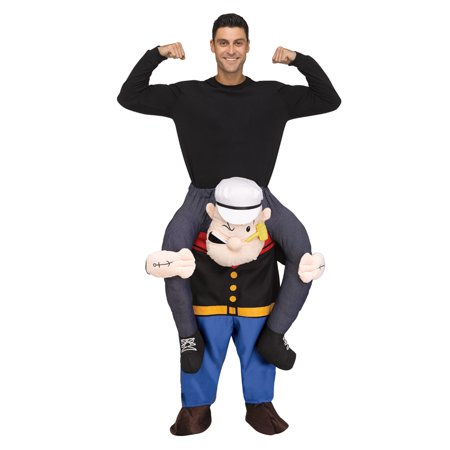 Adult Carry Me Popeye Halloween Costume (Halloween Events Near Me)