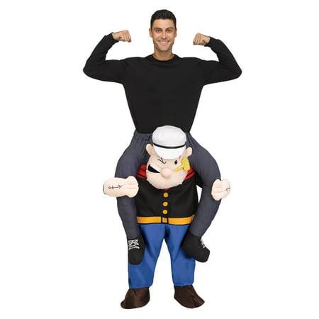 Popeye Halloween Costume Baby (Adult Carry Me Popeye Halloween)