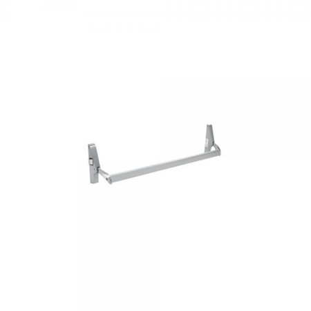 CRL Aluminum Cross Bar Panic Exit Device - Left Hand - Reverse Bevel Rim