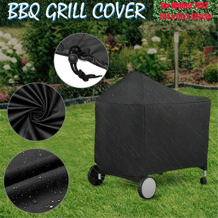 BBQ Barbeque Weber 7152 Black Grill Cover Protective for Performer Charcoal