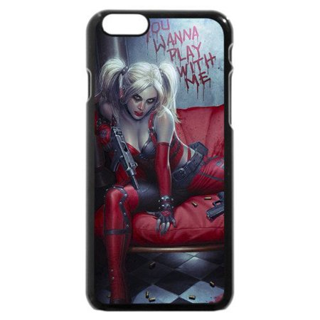 Ganma Daddy's Lil Monster - Harley Quinn Case For iPhone Case (Case For iPhone 5C Black)