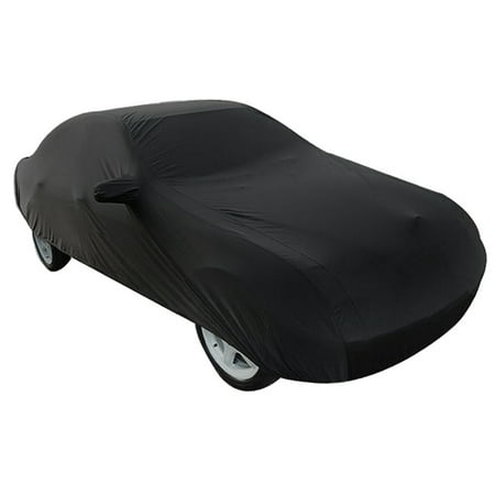 Durable Outdoor Stormproof Waterproof Breathableblack Car Cover For Cadillac