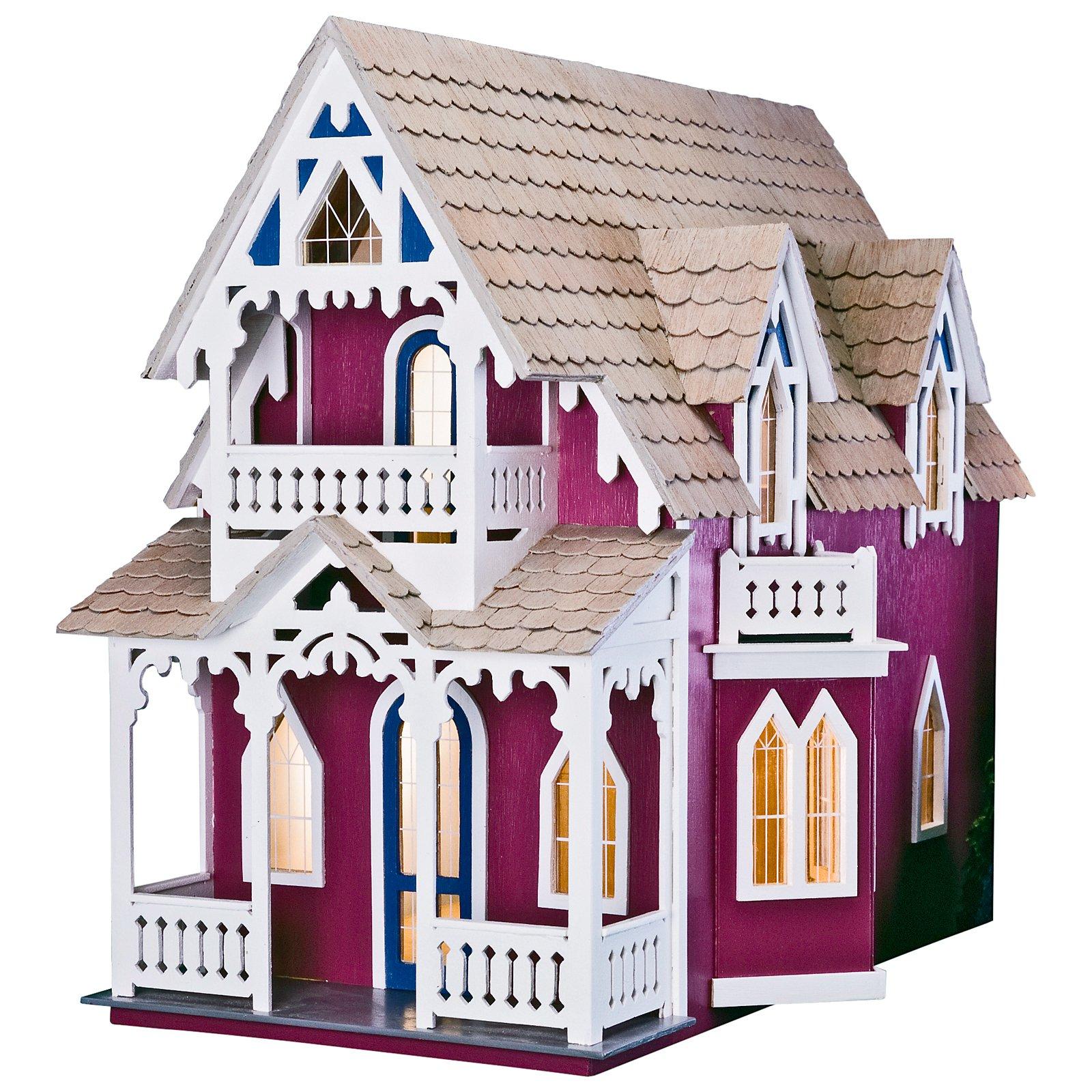 Greenleaf Vineyard Cottage Dollhouse Kit - 1 Inch Scale