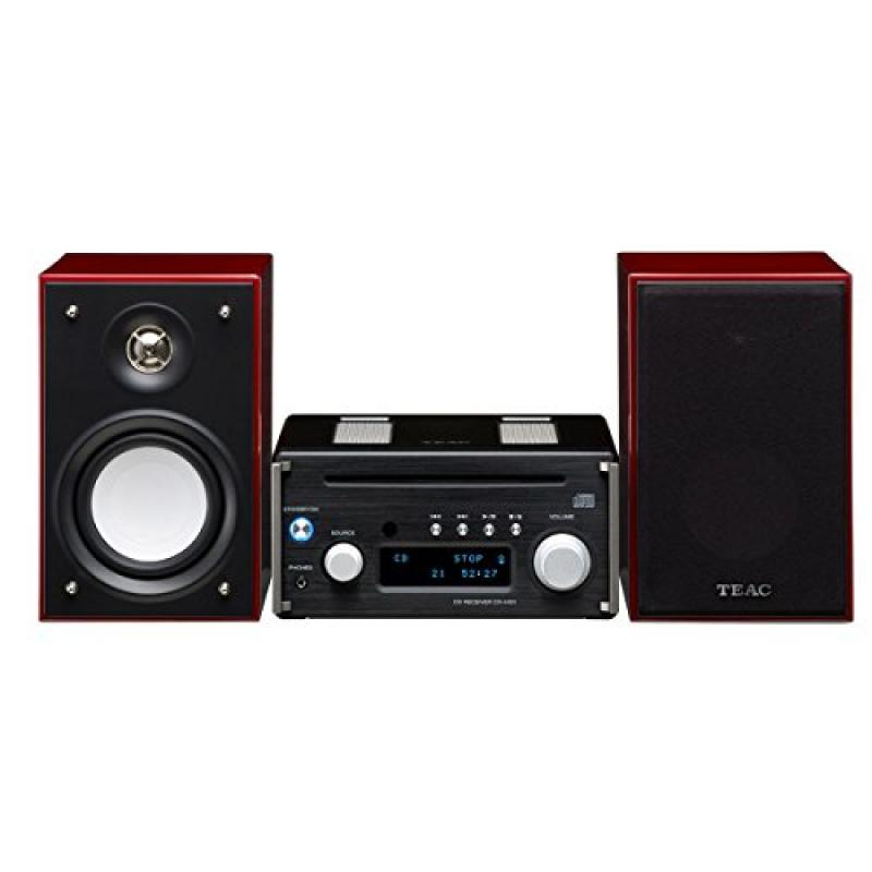 Teac HR-X101-BC CD Micro Component System in Black/Cherry