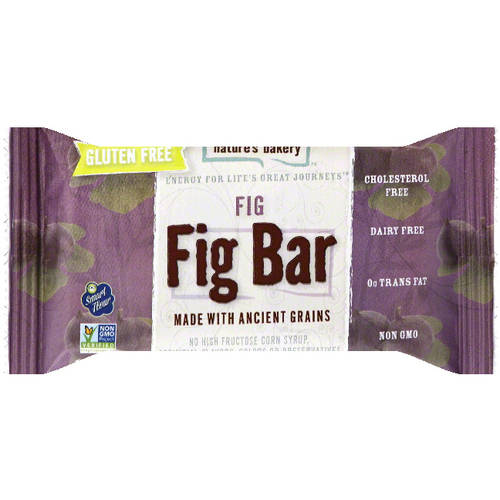 Nature's Bakery Fig Bar, Fig, 1g Protein, 12Ct