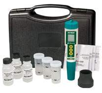 Extech (EC510) Waterproof ExStik II pH Conductivity Meter Kit by Extech