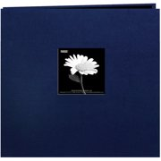 "Book Cloth Cover Post Bound Album 12""X12""-Regal Navy"