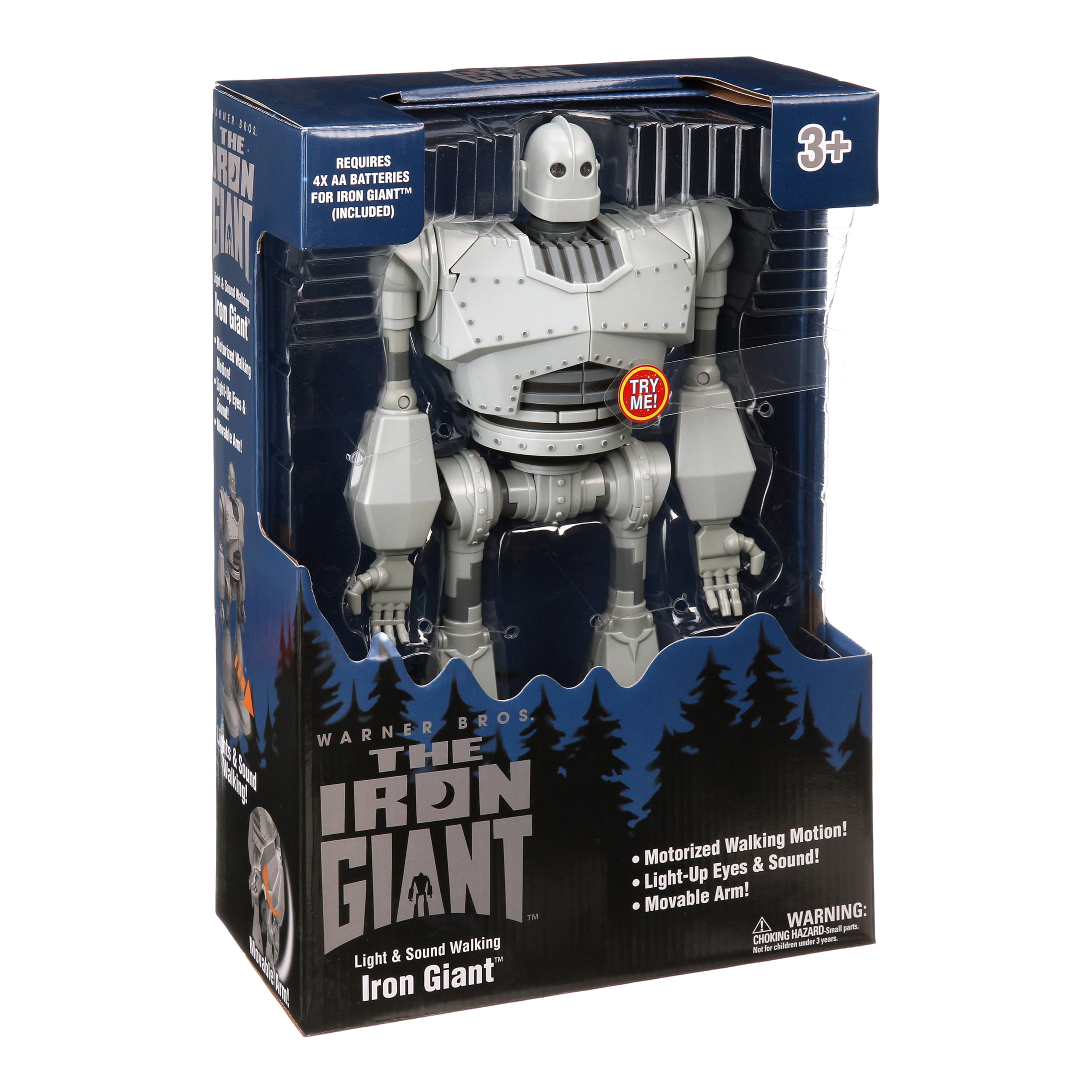 The Iron Giant Light & Sound Walking Robot Toy, 15""