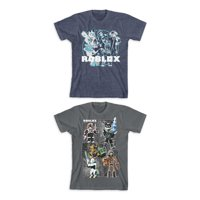 Roblox Boys Warriors Graphic T-Shirts 2-Pack, Sizes 4-18