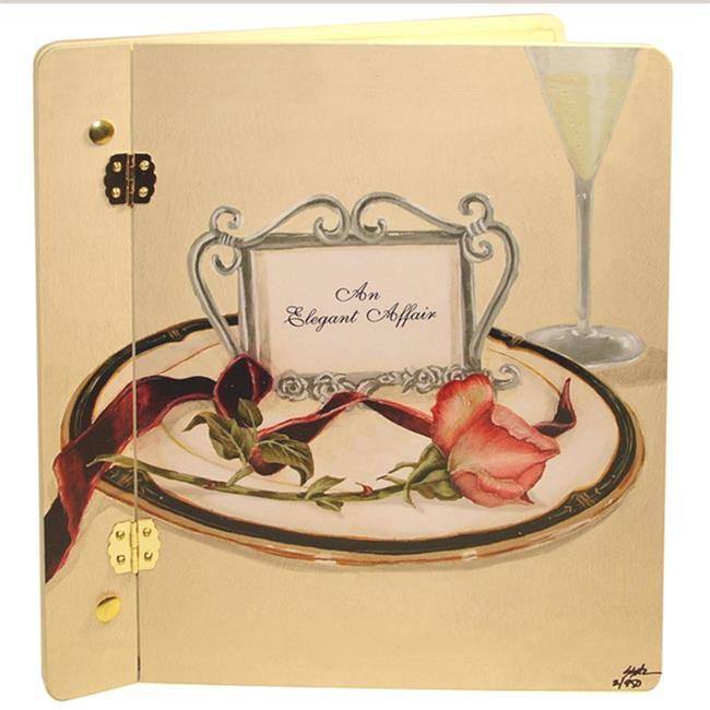 Lexington Studios 12-Album:12017RC Table 4 Two Rose Large Album Cream by