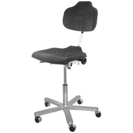 Milagon Task Chair  Polyurethane Black  Wsp1220