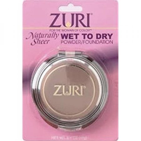 Zuri Naturally Sheer Pressed Powder Wet To Dry Caribbean Creme](Caribbean Makeup)