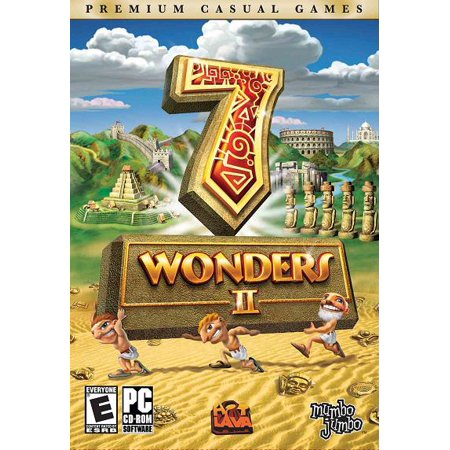 Seven 7 Wonders of the Ancient World II PC CDRom - Addictive, fresh matching