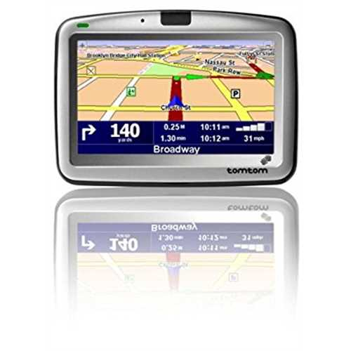 Refurbished TomTom GO 910 4-Inch Bluetooth Portable GPS Navigator by TomTom