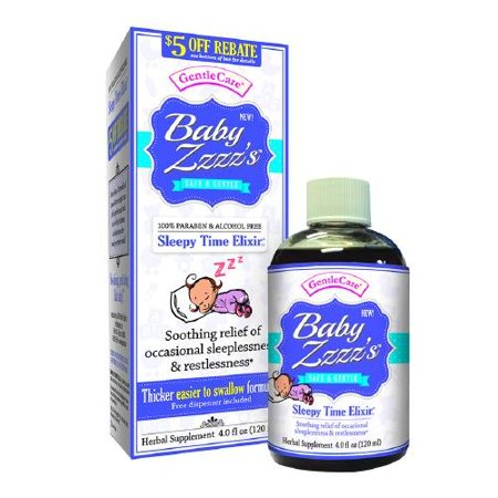 Gentle Care bébé Zzzz 4 fl oz (120 ml) (Pack de 1)