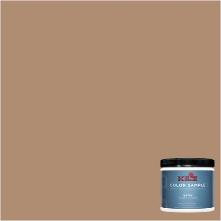 - KILZ COMPLETE COAT Interior/Exterior Paint & Primer in One #LC250-02 Caramelized