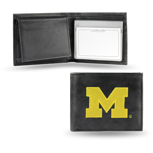 NCAA - Men's Michigan Wolverines Embroidered Billfold Wallet