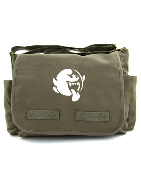 62311819a7 Product Image Mario Brothers Boo Heavyweight Canvas Messenger Shoulder Bag