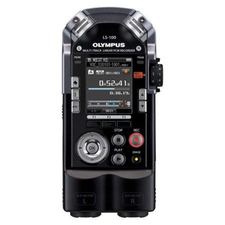 Olympus LS-100 4GB Digital Voice Recorder by