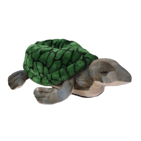 Happy Feet Mens and Womens Turtle Animal Slippers