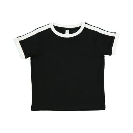 Rabbit Skins Drop Ship Toddler Soccer Ringer Fine Jersey T-Shirt