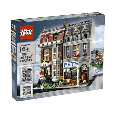 Lego 10218 Modular Creator Series Pet - Creator 3d Series Graphics