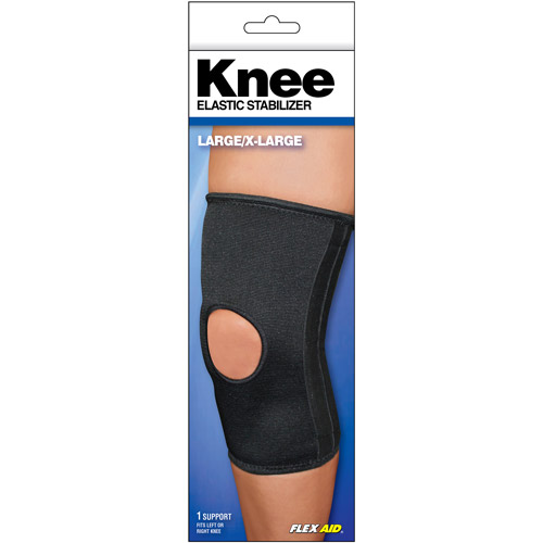 Flex Aid Elastic Knee Stabilizer, Large/X-Large