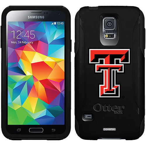 Texas Tech TT Design on OtterBox Commuter Series Case for Samsung Galaxy S5