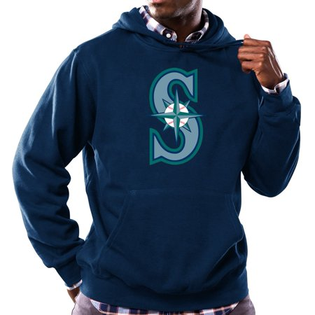 "Seattle Mariners Majestic MLB ""Scoring Position"" Mens Hooded Sweatshirt by"