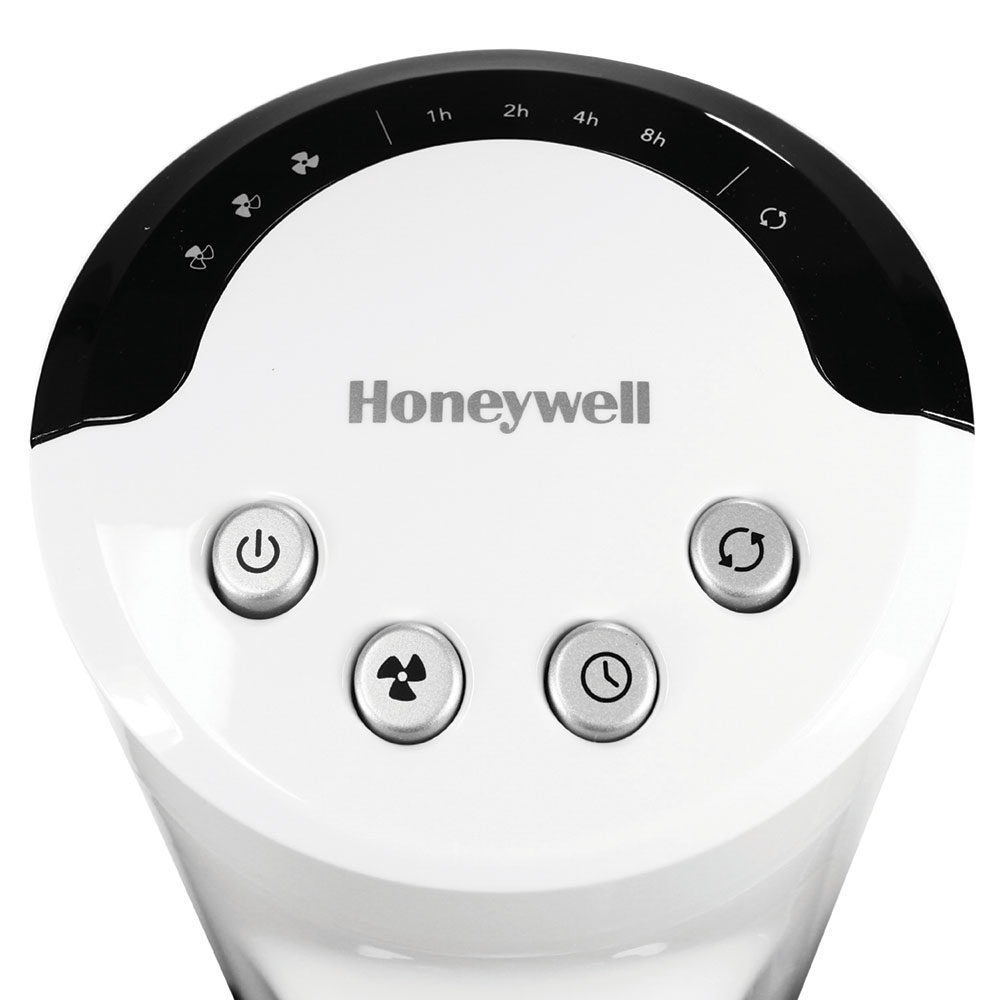 Honeywell Comfort Control Tower Fan Slim Design Powerful Cooling