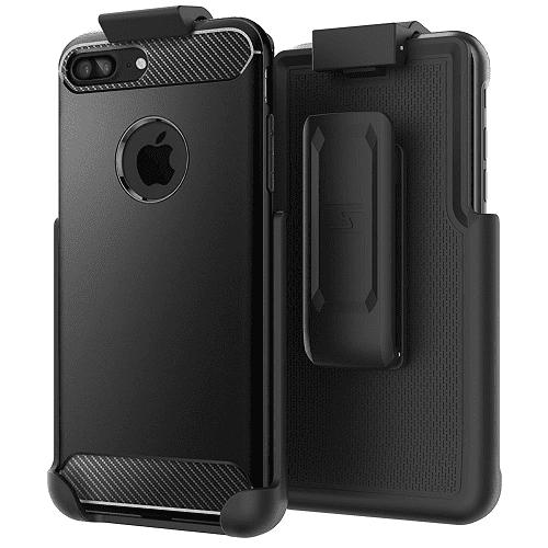 "Belt Clip Holster for Spigen Rugged Armor Case - iPhone 7 Plus (5.5"") (By Encased) (case is not included)"