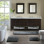 Home Essence Regal Solid Tufted Durable Bath Rug Collection