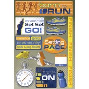 Cardstock Stickers-Born To Run