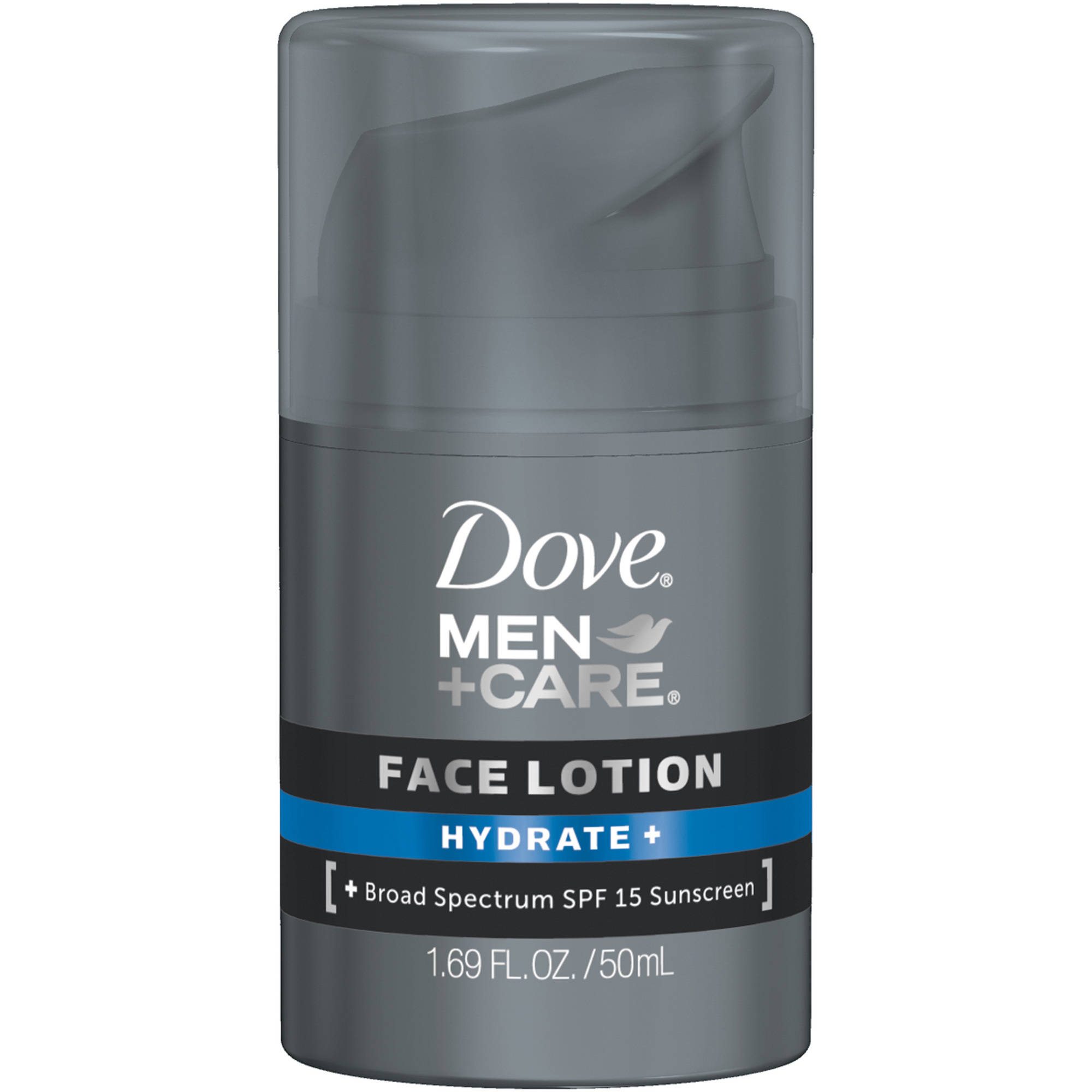 Dove Men+Care Hydrate + Face Lotion, 1.69 fl oz