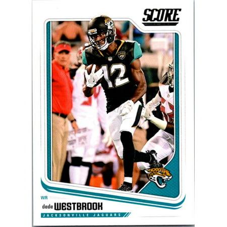 2018 Score #150 Dede Westbrook Jacksonville Jaguars Football Card