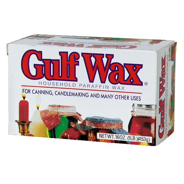 Gulf Wax Household Paraffin Wax, 16 oz