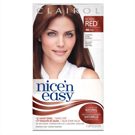 Clairol Nice 'n Easy Born Red Permanent Hair Color, 4R/112 ...