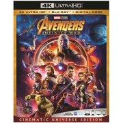 Avengers: Infinity War (Cinematic Universe Edition) (4K Ultra HD + Blu-ray + Digital Code)