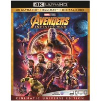 Avengers: Infinity War 4K Ultra HD + Blu-ray + Digital Code