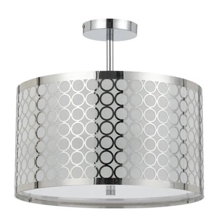 Cal Lighting Madrid FX-2293/1C Semi Flush Mount